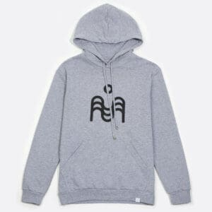 Marat hoodie with 3D print logo